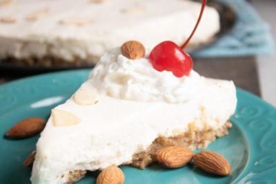 No-Bake Cheesecake, Easy Cheesecake Recipe, Almond Cheesecake, No-Bake Dessert