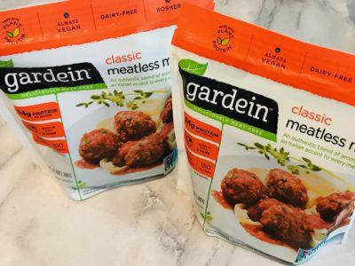 Meatless Meatballs, Gardein Meatless Meatballs, Vegetarian Meatballs