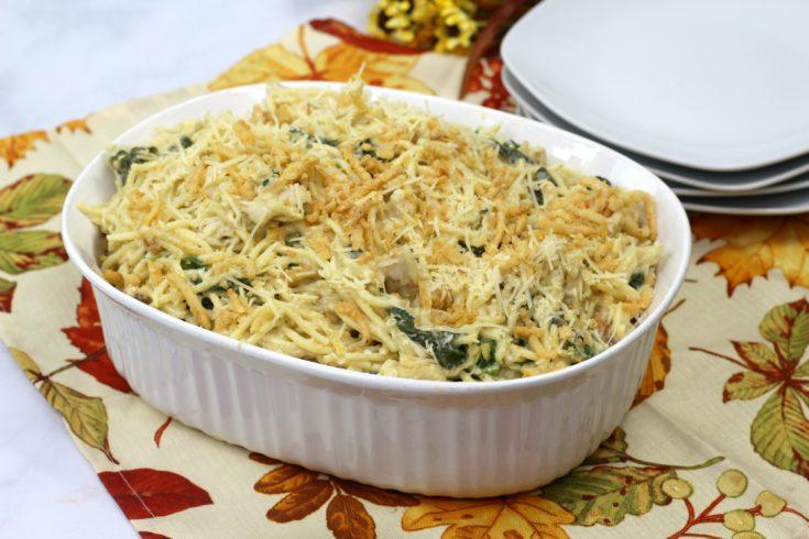 Cheesy Chicken Spaghetti Casserole Recipe: Easy & Everyone Loves It