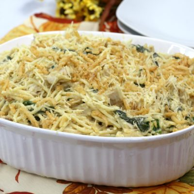 Cheesy Chicken Spaghetti Casserole Recipe: Easy & Everyone Loves It