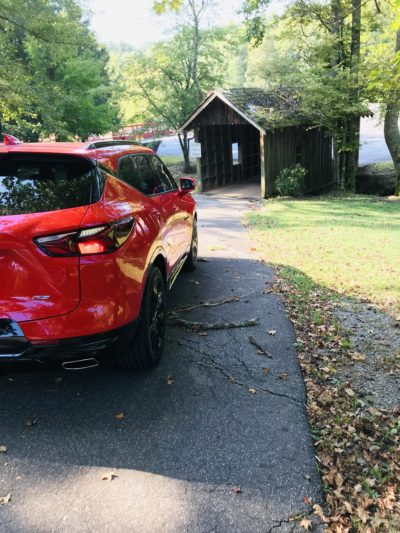 2019 Chevrolet Blazer RS, North Georgia Drives, Blazer Review, Chevrolet SUV Review