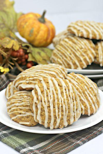 Easy Pumpkin Butter Cookies, Pumpkin Cookies, Oatmeal Pumpkin Cookies