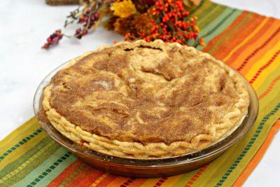 Baked Snickerdoodle Pie, Easy Snickerdoodle Pie, Snickerdoodle Pie Recipe Steps