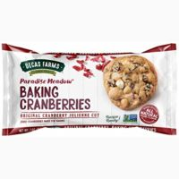 Paradise Meadow Julienne Cut Cooking and Baking Dried Cranberries, 7 Ounce