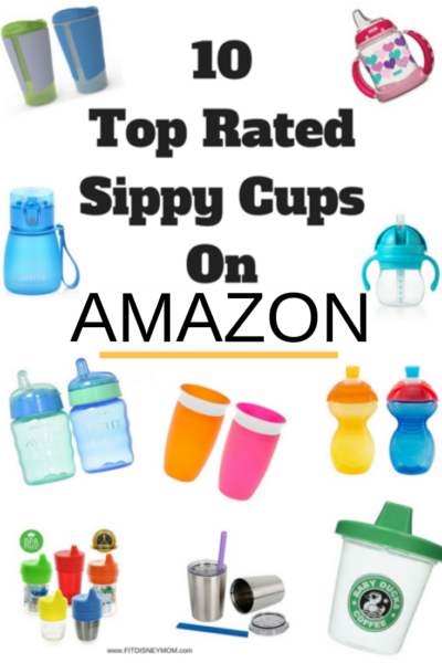 Don't waste money on toddler sippy cups that don't work. These are the best rated options on Amazon! #Toddler #Kids #SippyCups #ToddlerHacks