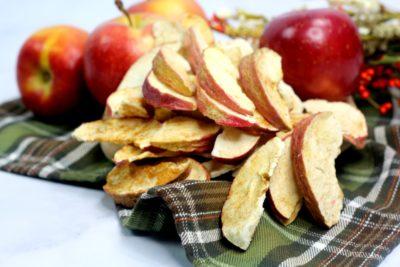 Apple Chips, Easy Apple Chips, Quick Apple Chips Recipe, Air Fryer Fall Recipe