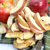 How To Make Air Fryer Apple Chips: Bare, Baked & Delicious For Fall