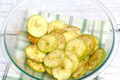 Apple Chips, Baked Apple Chips, Bare Apple Chips, Air Fryer Fall Recipe