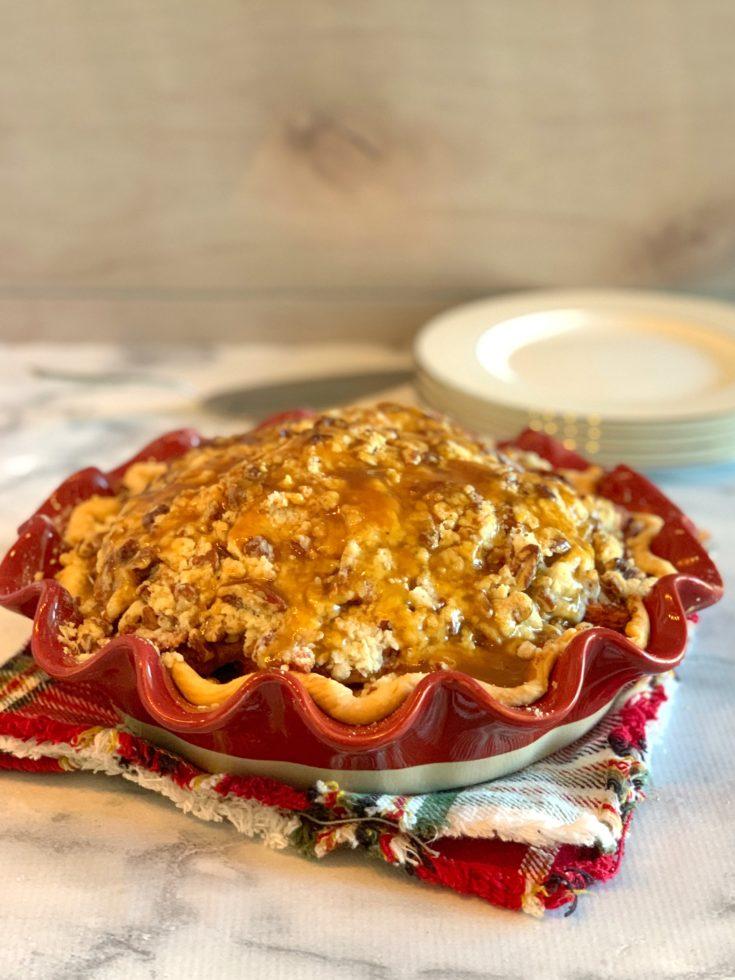 Caramel Apple Pie, Caramel Dutch Apple Pie, Caramel Pecan Apple Pie