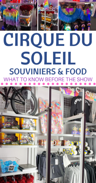Have tickets to Cirque du Soleil? Here's everything you need to know about Cirque du Soleil souvenir prices & food prices before the show! #Entertainment #CirqueDuSoleil