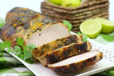 Baked Cuban Mojo Pork, Cuban Pork Loin, Baked Pork Loin, Easy Baked Pork