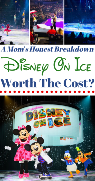 Thinking of buying Disney On Ice tickets? Here's a breakdown of the expenses and whether it's worth it for your family! #Disney #DisneyOnIce #DisneyTips