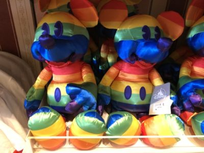 Disney Pride Merchandise, Disney Pride Mickey, Disney Pride Plush