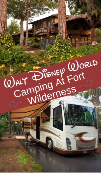 Everything you need to know about camping at Disney World with the Fort Wilderness Campsite! #DisneyWorld #DisneyTips #DisneyVacation #Camping #FloridaCamping