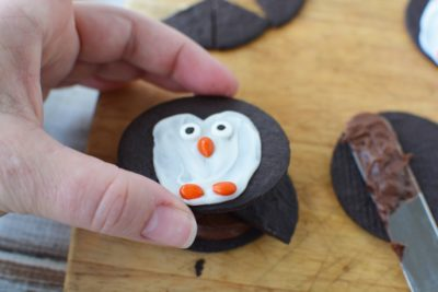 Easy Kids Christmas Cookie, Penguin Dessert, Kids Cookie Design