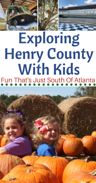 The best things to do in McDonough with kids (and the rest of Henry County). Just south of Atlanta, it's full of family fun that's completely unexpected. #Atlanta #FamilyTravel #Travel