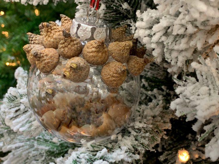 DIY Christmas Ornament, Natural Christmas Ornament, Natural Christmas Tree Decor, Easy Christmas Ornament