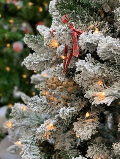 DIY Natural Christmas Ornament, DIY Christmas Ornament, Christmas Tree Decor, Natural Christmas Decor, Easy DIY Christmas Ornament