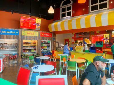 Legoland Atlanta Discovery Center Food Options