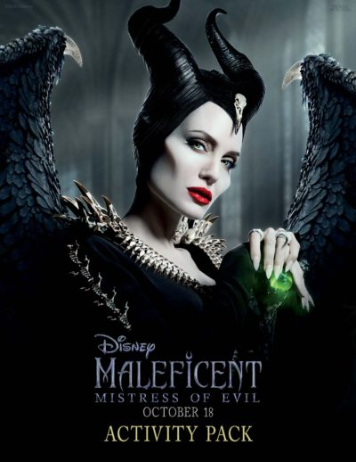 Free Maleficent Coloring Pages, Maleficent II, Maleficent Pages