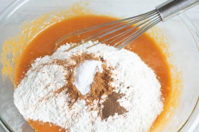 Pumpkin ganache cake recipe