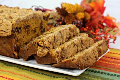 Fall Pumpkin Bread, Fall Baking Recipe, Pumpkin Chocolate Chip Bread Recipe, Pumpkin Bread