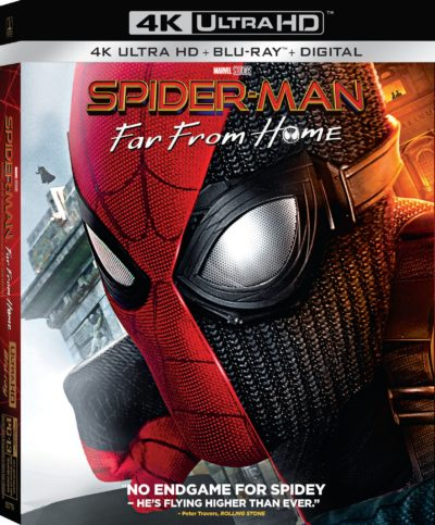 Spider-Man Far From Home, Spider-Man Far From Home DVD, Spider-Man Far From Home Blu-Ray