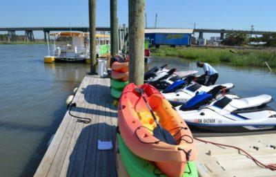 Tybee Island Kayaking, Tybee Island Kayak Rentals, Little Tybee Island Kayaking