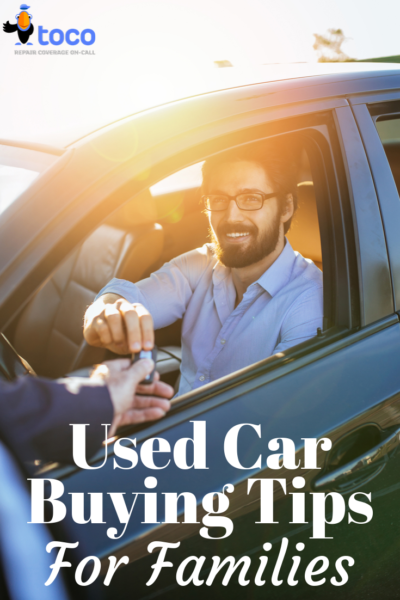Used car buying tips for families that makes it simple and easier on everyone. #CarBuying #finances #FinanceTips
