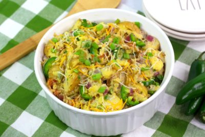 Jalapeno Potato Salad, Creamy Potato Salad, Spicy Potato Salad, Tailgating Potato Salad