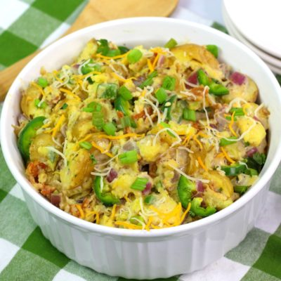 Jalapeño Potato Salad: Kickin' & Creamy Like Poppers
