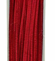 Creativity Street Chenille Stems/Pipe Cleaners 12 Inch x 4mm 100-Piece, Red