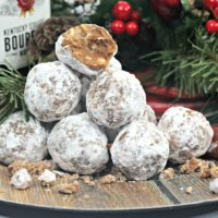 Bourbon Ball Cookies: An Easy No Bake Christmas Cookie Recipe
