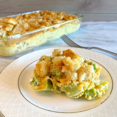 Broccoli Cheese Casserole: A Thanksgiving Broccoli Side Dish