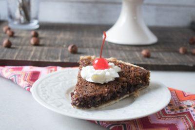 Chocolate-Hazelnut Tart, Easy Chocolate Hazelnut Tart, Hazelnut Tart, Easy Tart, Christmas Dessert