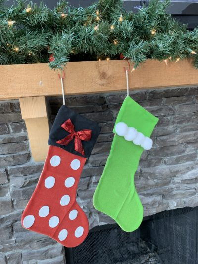 DIY Minnie Mouse Stocking, Minnie Mouse Christmas Stocking, Minnie Mouse Stocking For Christmas