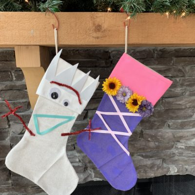 DIY Disney Christmas Stockings Craft: For A Magical Holiday