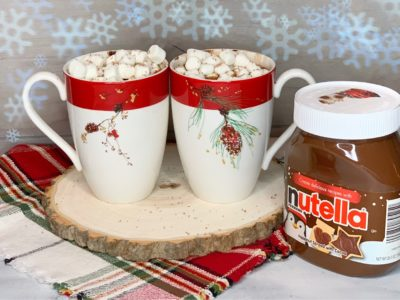 Hot Chocolate, Nutella Hot Chocolate, Easy Hot Chocolate, Slow Cooker Hot Cocoa