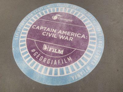 Captain America Civil War Film Spot Atlanta, Marvel Film Spot Atlanta, Georgia Film Association