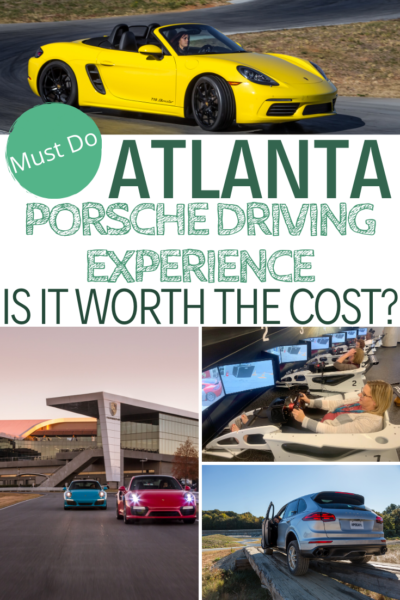 Is Atlanta's Porsche Driving Experience cost worth it? This full review includes a written and video review of the experience. #Porsche #PorscheAtlanta #Atlanta #Travel #FamilyTravel #AtlantaTravel