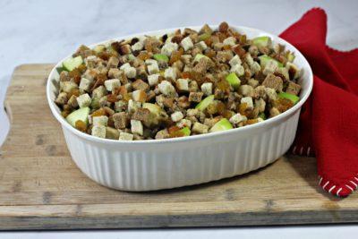 Apple Sausage Stuffing, Thanksgiving Stuffing Recipe, Easy Thanksgiving Stuffing Recipe