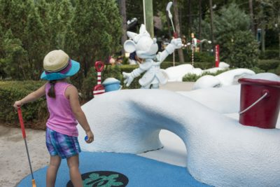 Disney World Miniature Gold, Winter Summerland Gold, Mini Golf at Disney World