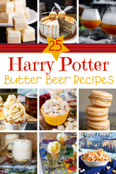 These easy Harry Potter Butterbeer recipes are perfect for any Potterhead to enjoy. #HarryPotter #Butterbeer #HarryPotterRecipes