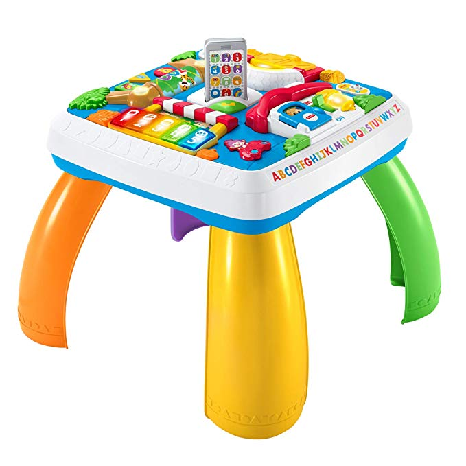 Fisher-Price Laugh Learn Around The Town Learning Table Playset