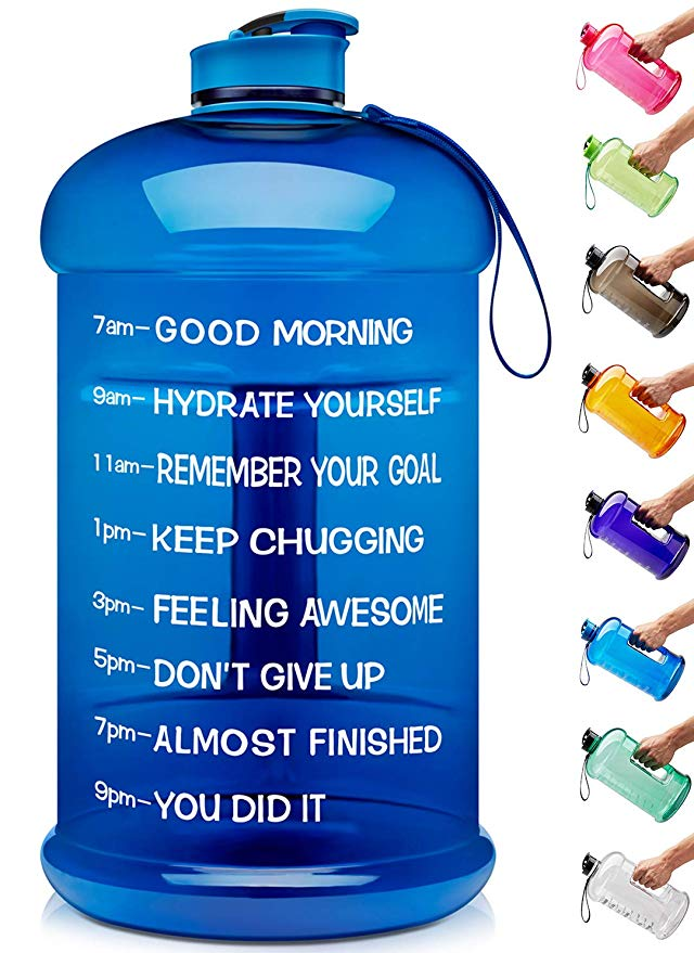 Venture Pal Large 128oz/74oz Leakproof BPA Free Fitness Sports Water Bottle