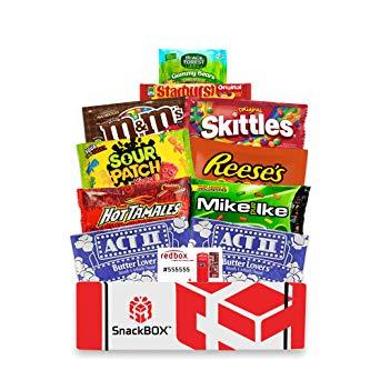 Redbox Movie Night Care Package