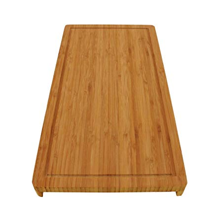 BambooMN Brand Bamboo Griddle Cover/Cutting Board