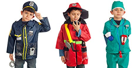 Set of 3 Rescue Costumes