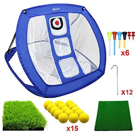 MESIXI Pop Up Golf Chipping Net & Gift Set
