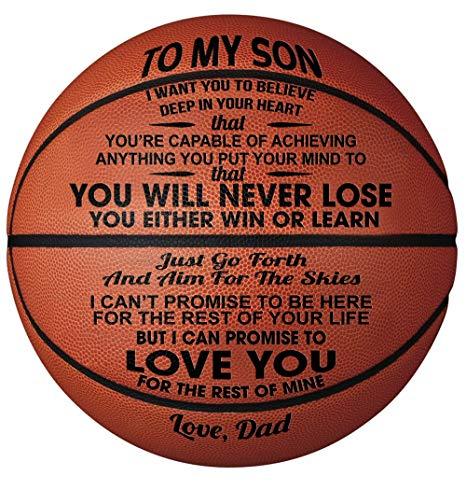 GadgetsTalk Engraved Basketball Gift